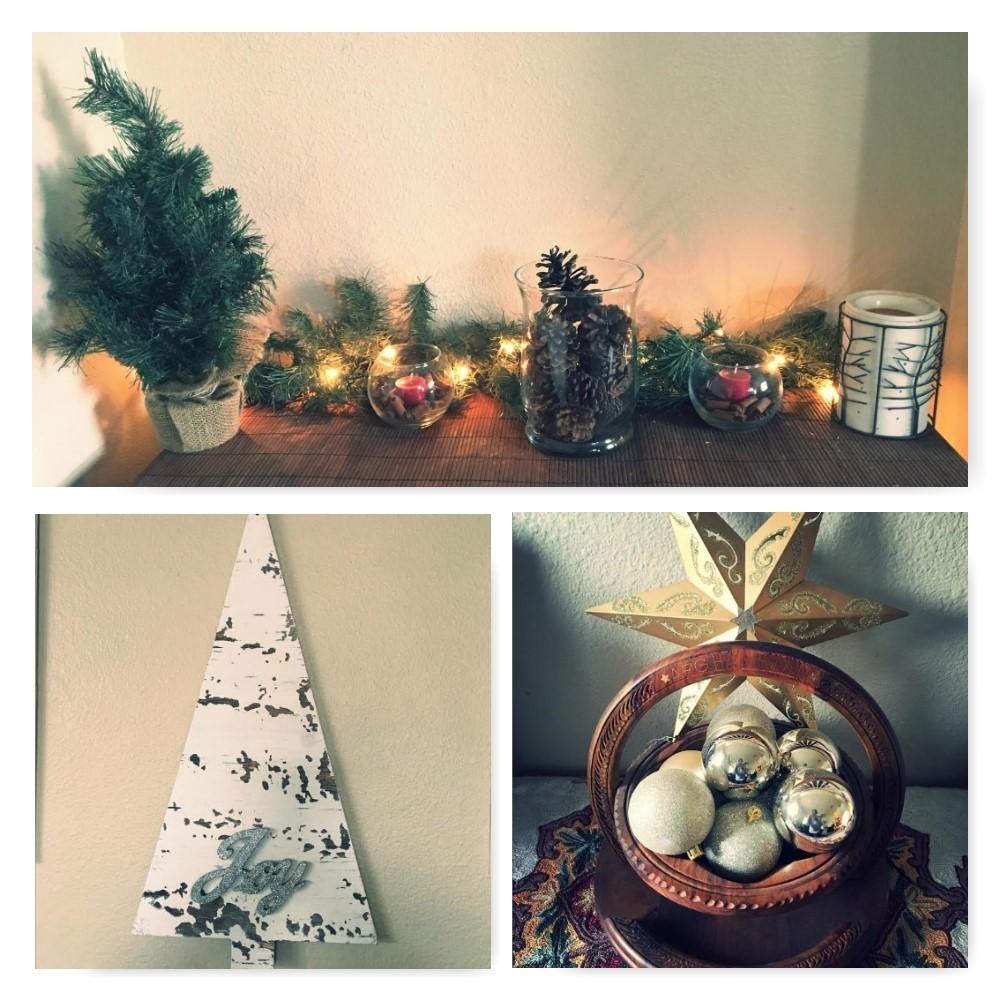 Christmas d cor ideas army wife with daughters for Army decoration ideas
